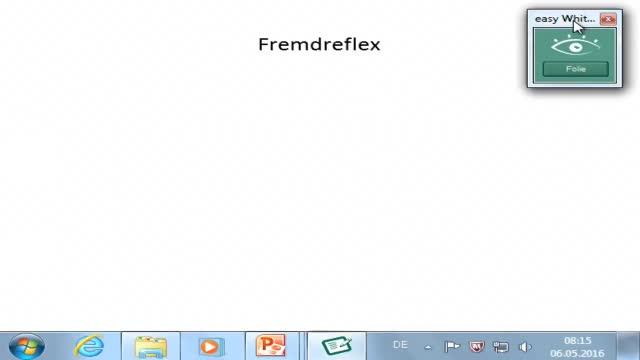 Neuroanatomie: Fremdreflex; vom Rückenmark zur Hirnrinde preview image