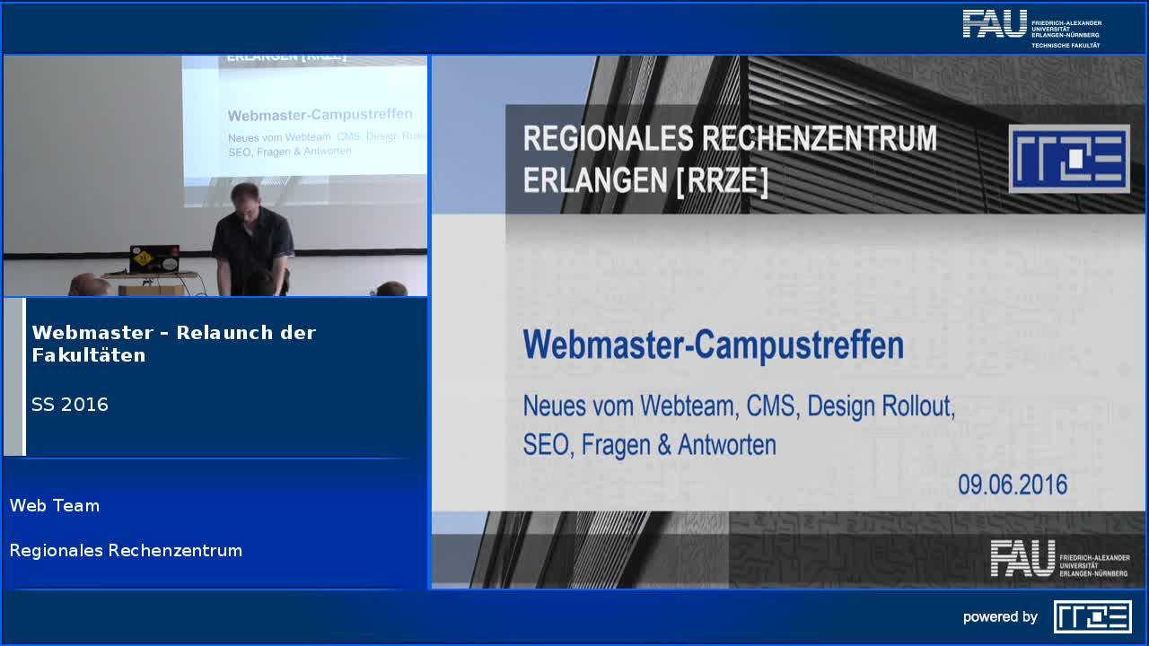 Webmaster – Relaunch der Fakultäten preview image