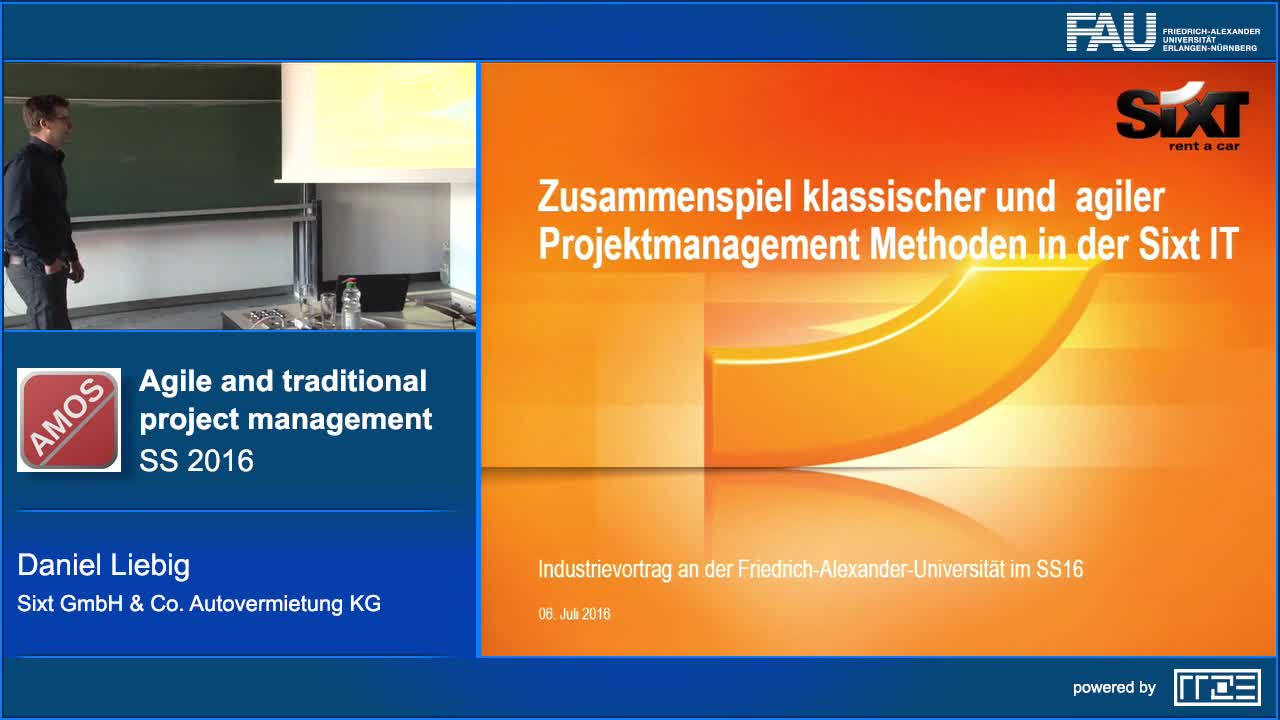 Experiences in aligning agile and traditional project management at Sixt GmbH preview image