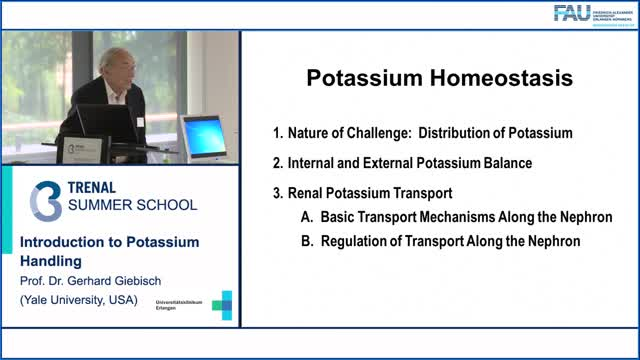 TRENAL Summer School - Introduction to Potassium Handling preview image