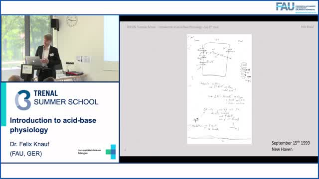 TRENAL Summer School - Introduction to ACID-Base physiology preview image