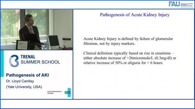 TRENAL Summer School - Pathogenesis of AKI preview image