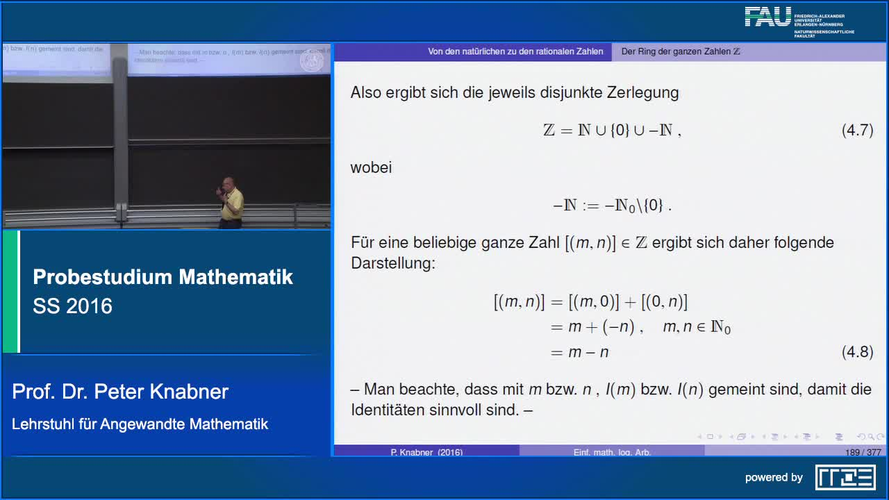 Probestudium Mathematik preview image