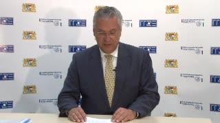 Begrüßung bayrischer Innenminister Joachim Herrmann preview image
