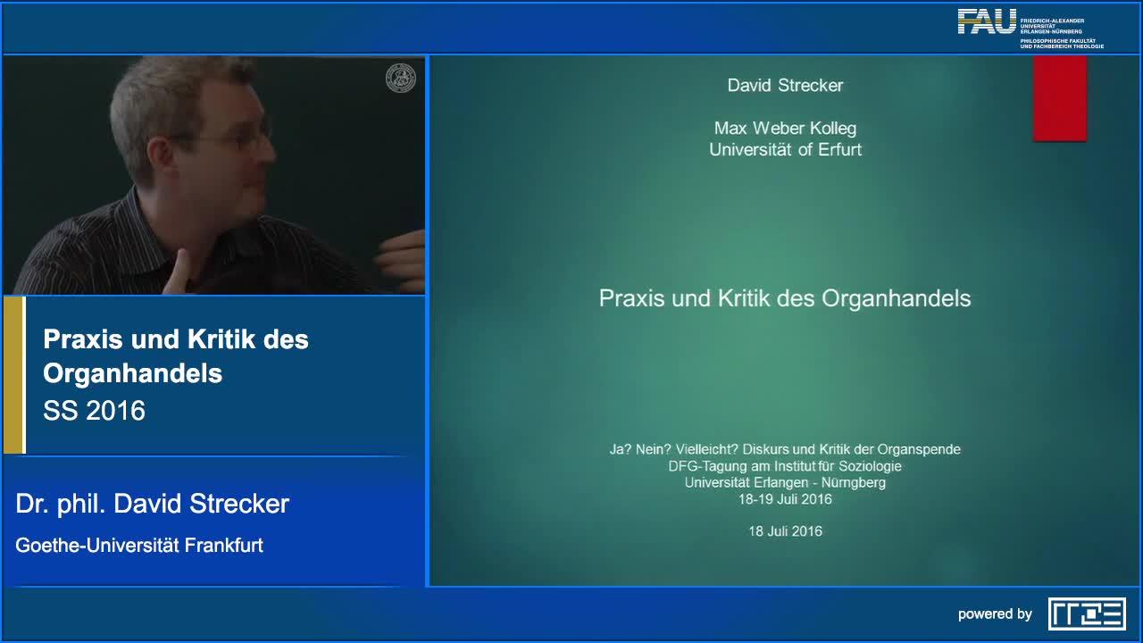 Praxis und Kritik des Organhandels preview image
