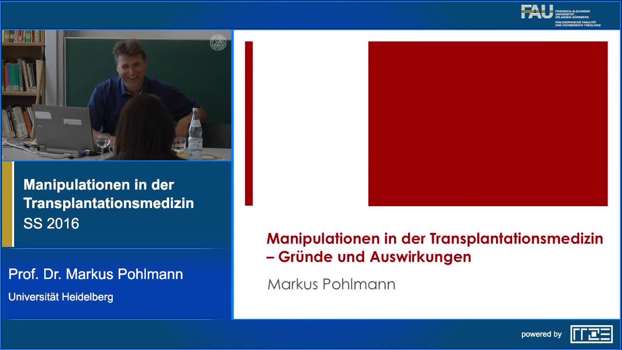 Manipulationen in der Transplantationsmedizin: Gründe und Auswirkungen preview image