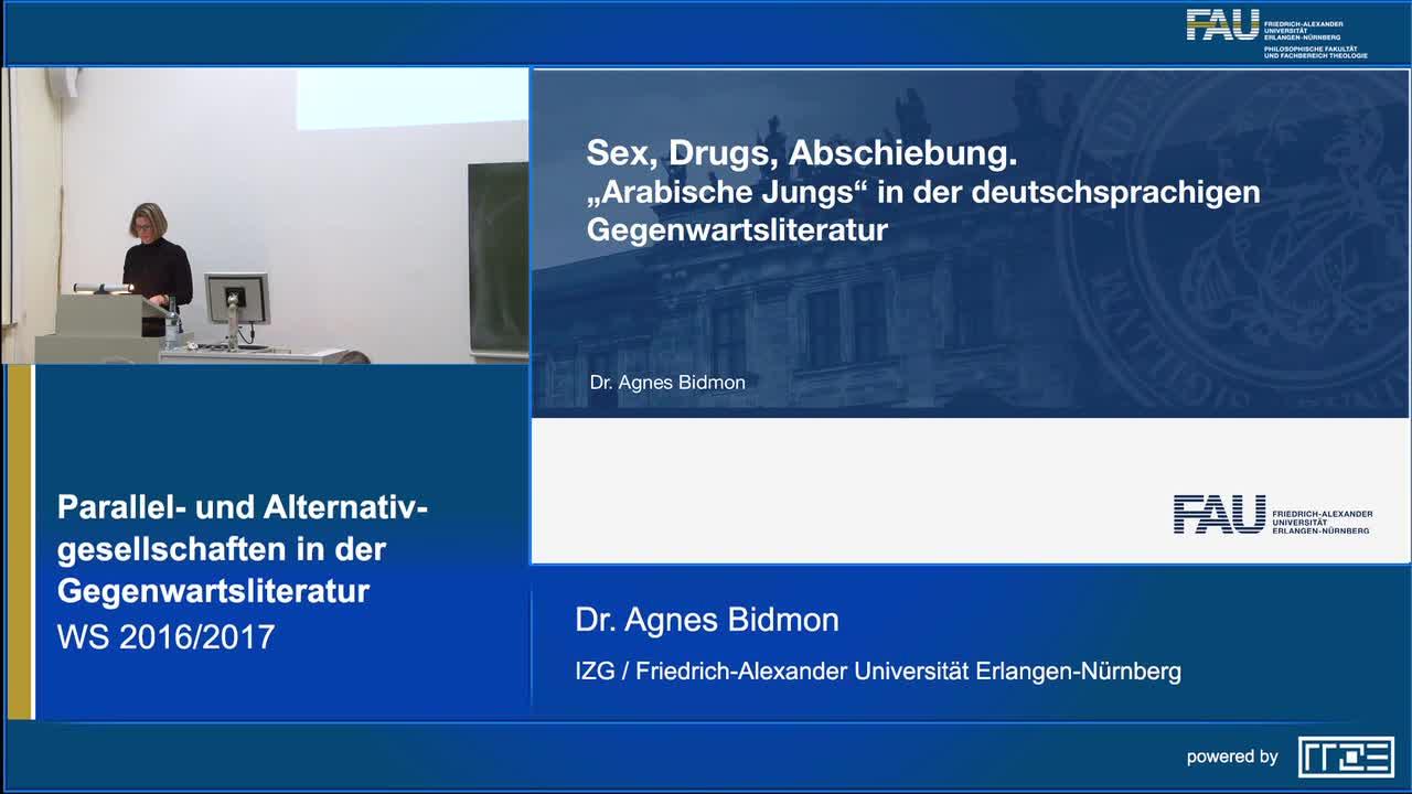Sex, Drugs, Abschiebung. Arabische Jungs in der deutschsprachigen Gegenwartsliteratur preview image