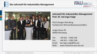 Industrie 4.0 - aktuelle Herausforderungen und strategische Implikationen aus wirtschaftswissenschaftlicher Perspektive preview image