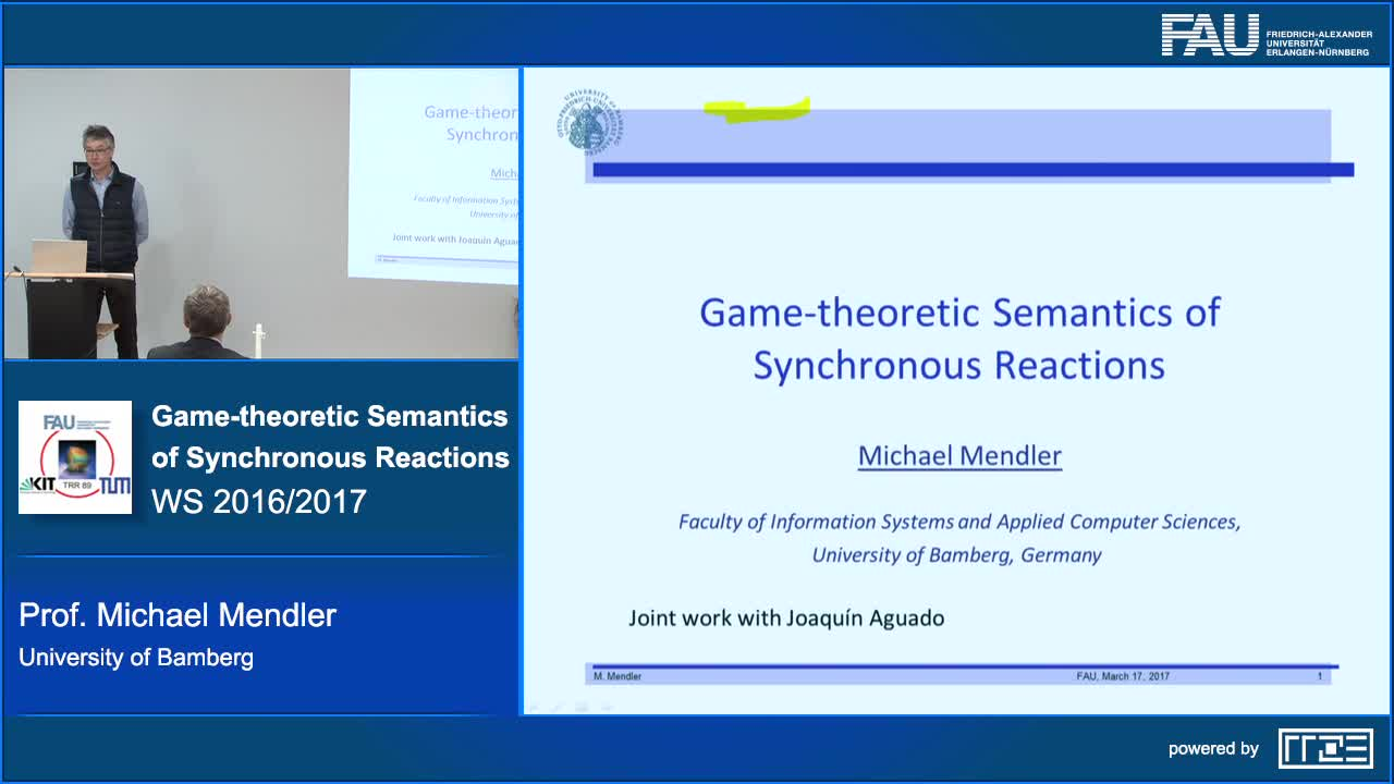 Game-theoretic Semantics of Synchronous Reactions preview image
