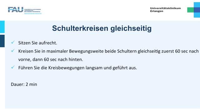 Krafttraining - Einsteiger - Schulterkreisen preview image
