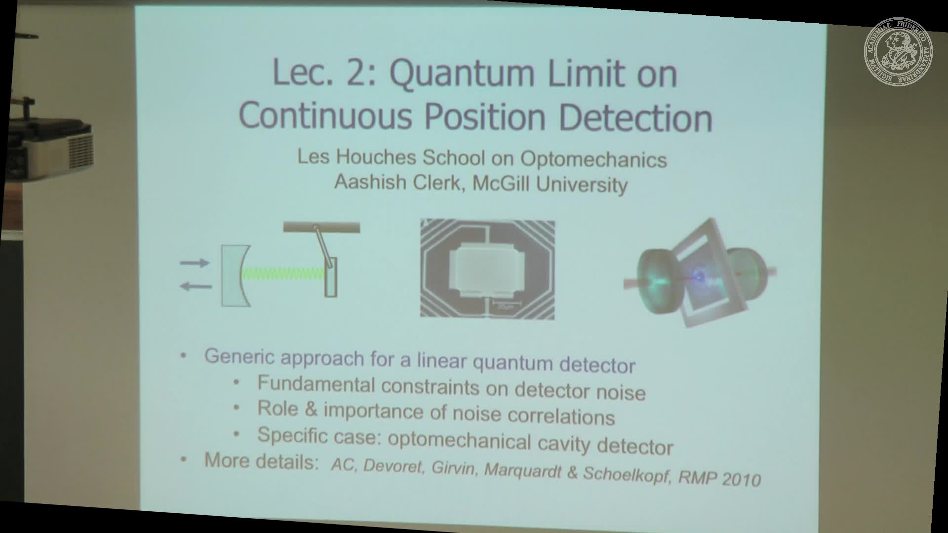 Optomechanics and quantum measurement - 2 preview image