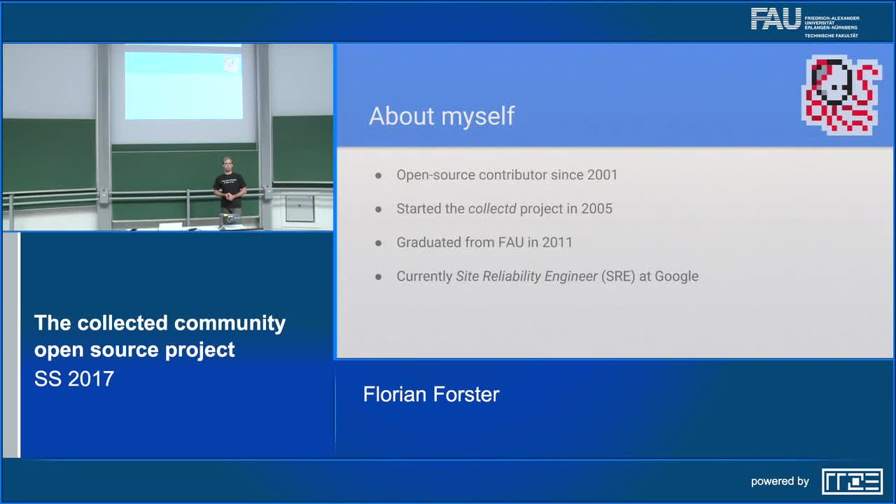 The collectd community open source project preview image