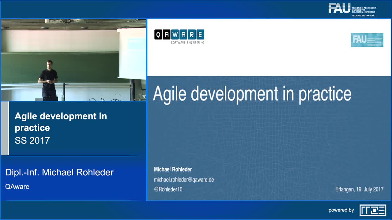 Agile development in practice preview image