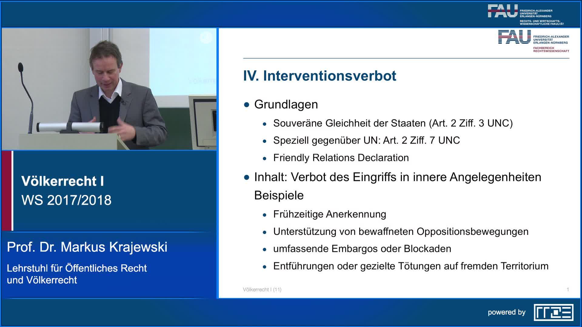 Völkerrecht I preview image