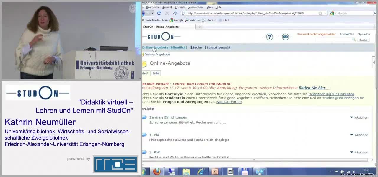 Virtuelle Führungen durch die UB preview image