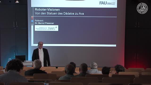 Roboter-Visionen - Von den Statuen des Dädalos zu Ava preview image