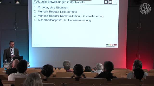Aktuelle Entwicklungen in der Robotik preview image