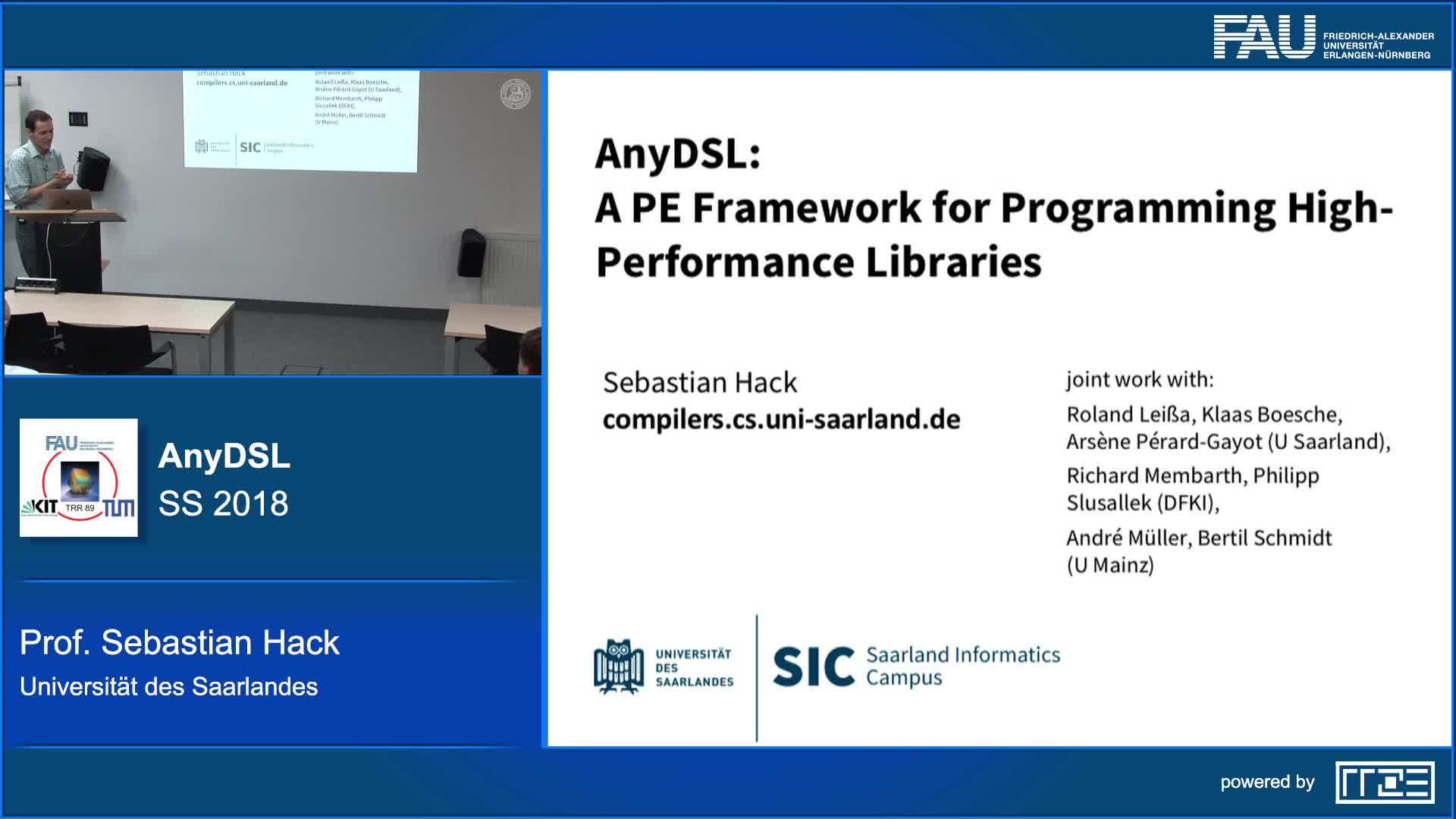 AnyDSL: A Partial Evaluation Framework for Programming High-Performance Libraries preview image