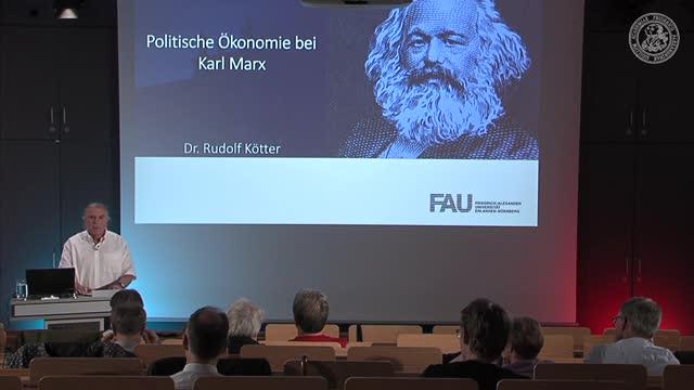 Politische Ökonomie bei Karl Marx preview image