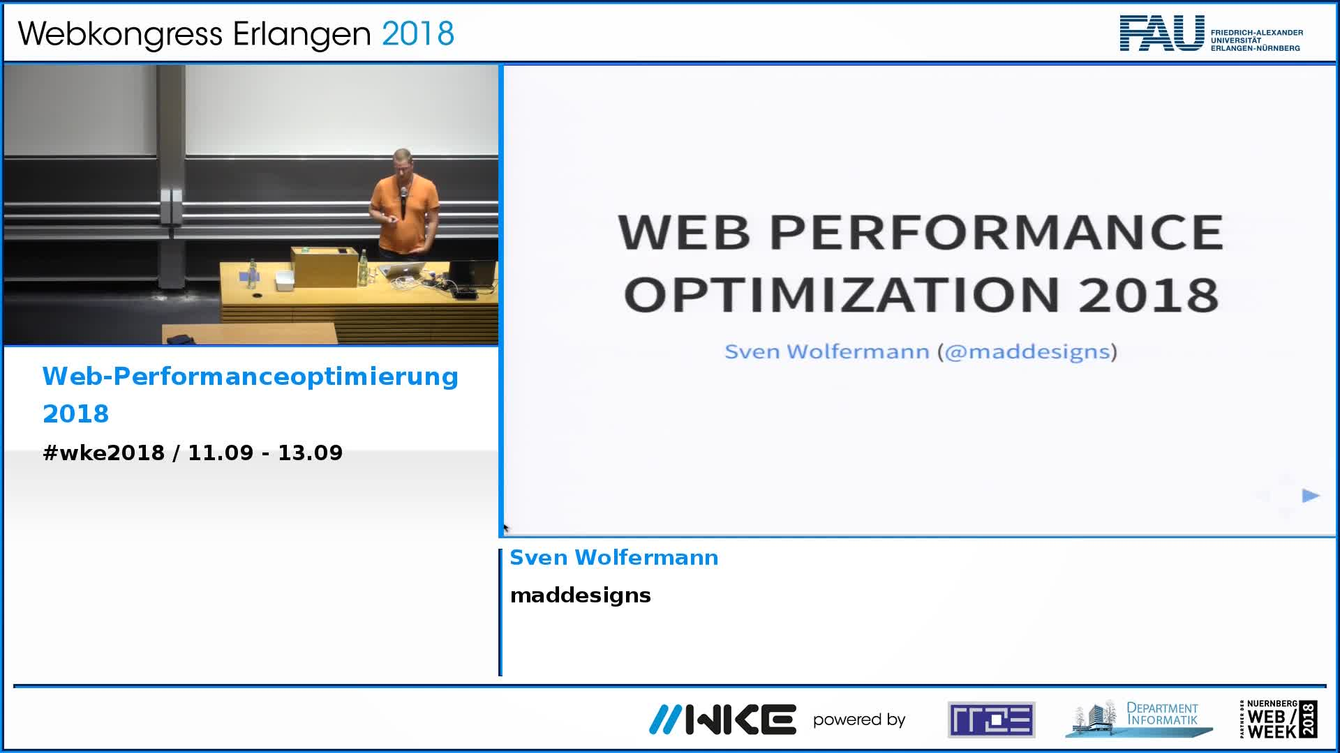 Web-Performanceoptimierung 2018 preview image