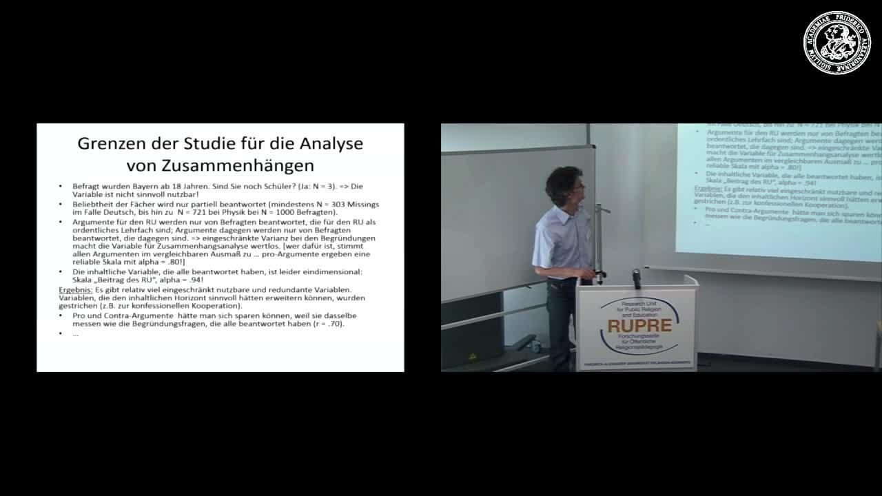 """Expert*innengespräch """"Religionsunterricht in Bayern"""" - Input III zu EMNID preview image"""