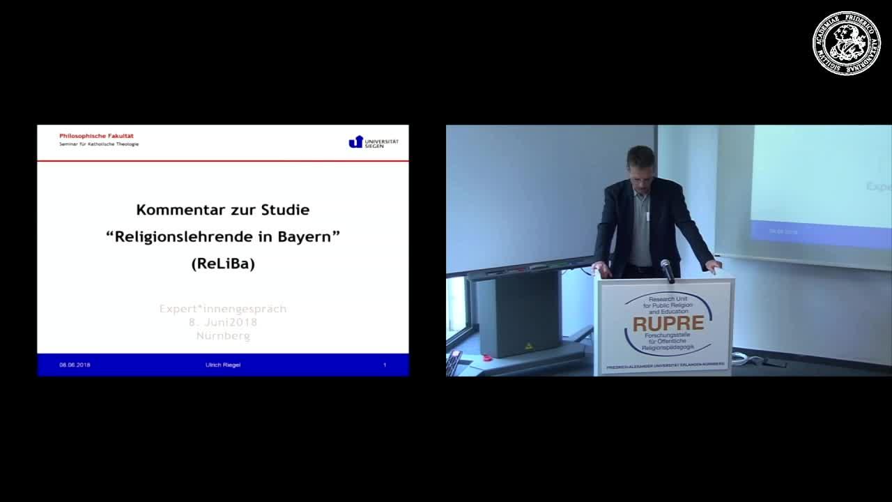 "Expert*innengespräch ""Religionsunterricht in Bayern"" - Input II zu ReliBa preview image"