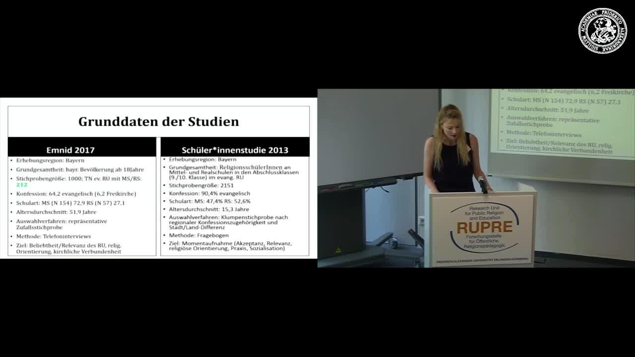 """Expert*innengespräch """"Religionsunterricht in Bayern"""" - Input I übergreifend: Vergleiche zur Studie """"Schülerperspektiven auf den Religionsunterricht"""" preview image"""