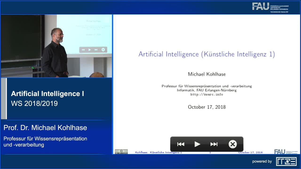 Artificial Intelligence I preview image