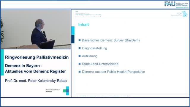 Demenz in Bayern  -  Aktuelles vom Demenz Register preview image