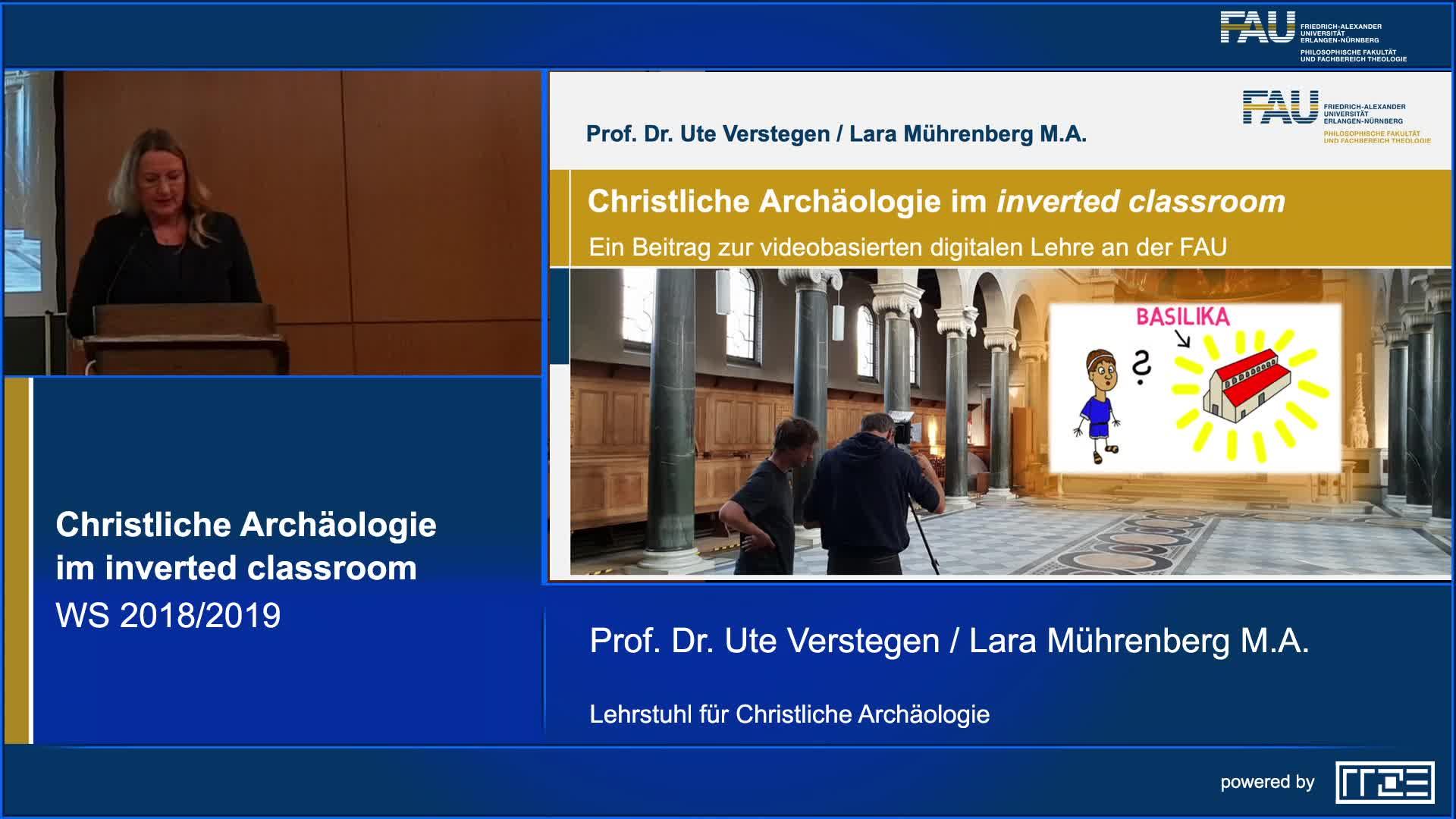 Christliche Archäologie im inverted classroom. Ein Projekt zur videobasierten digitalen Lehre an der FAU preview image