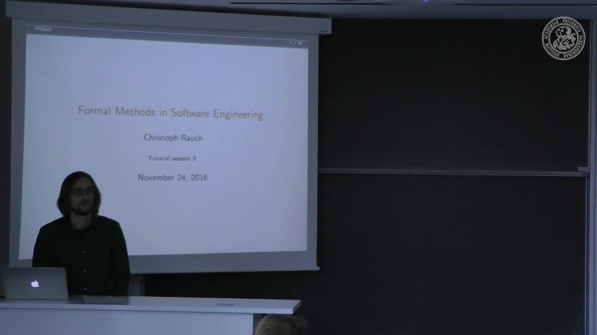 Formale Methoden der Softwareentwicklung preview image