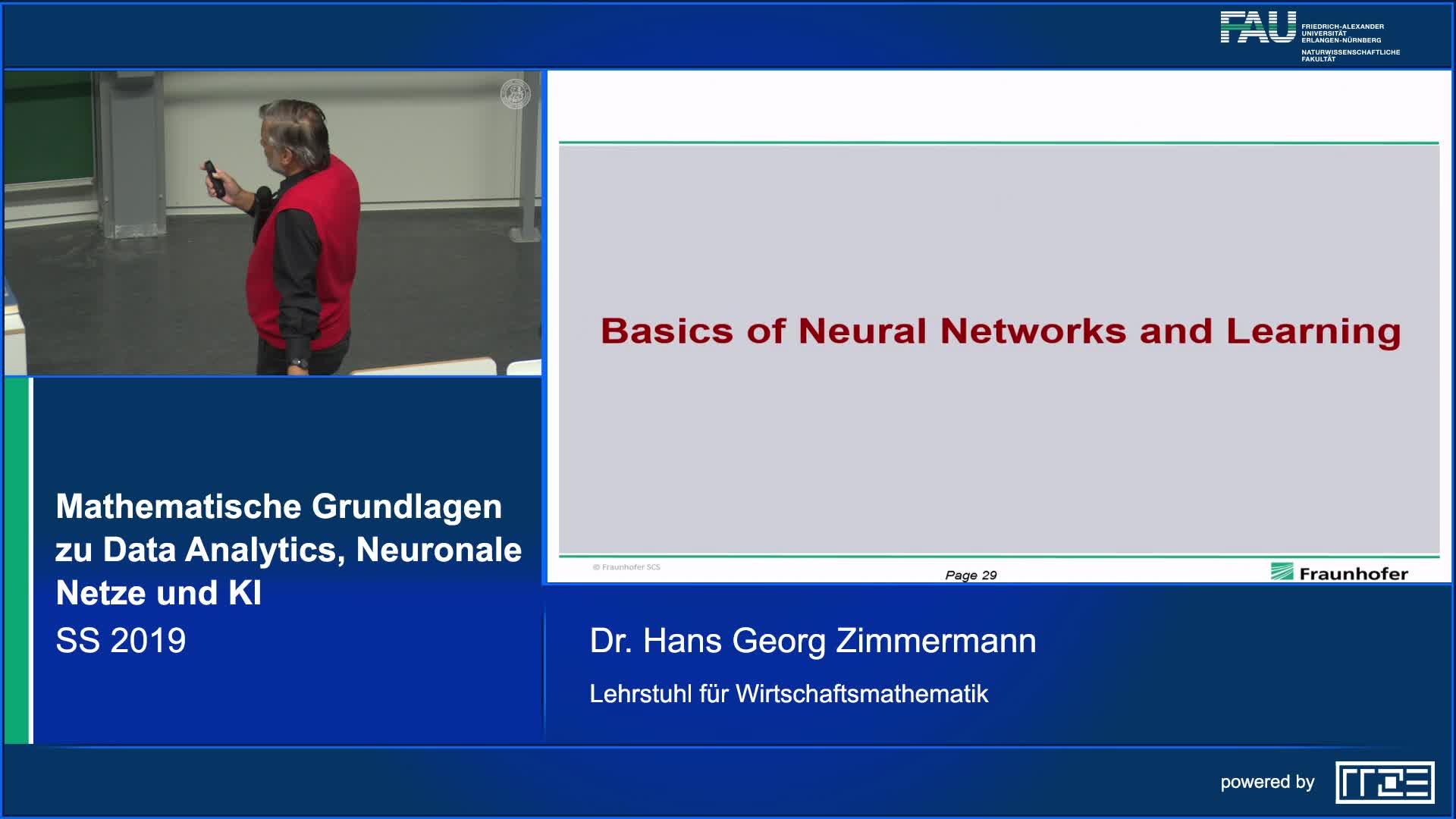 Mathematische Grundlagen zu Data Analytics, Neuronale Netze und Künstliche Intelligenz preview image