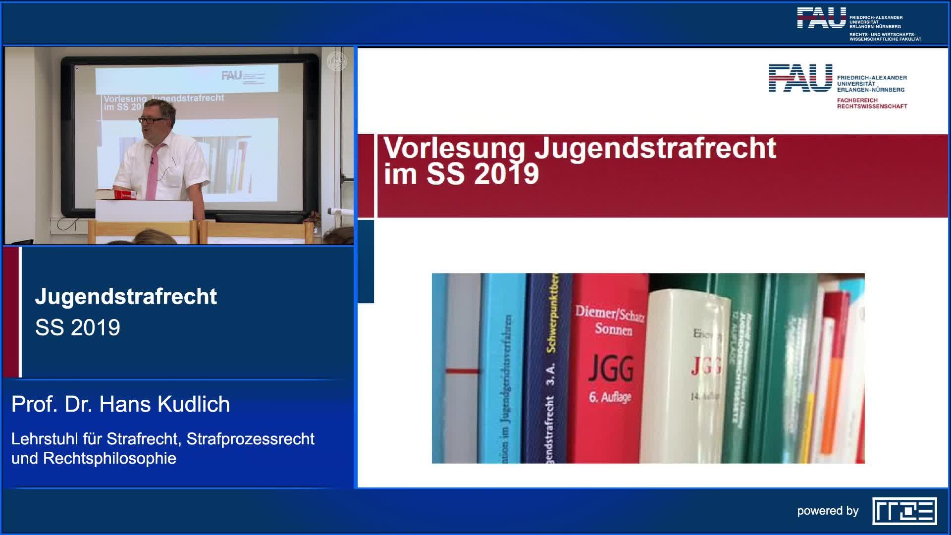 Jugendstrafrecht preview image