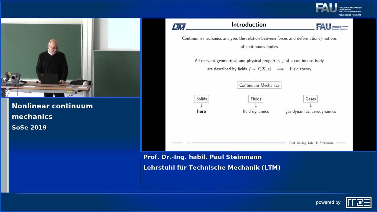Nichtlineare Kontinuumsmechanik preview image