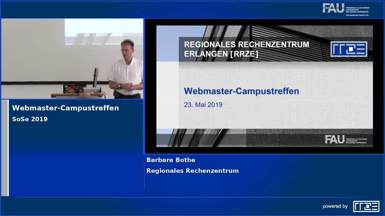 Webmaster-Campustreffen preview image