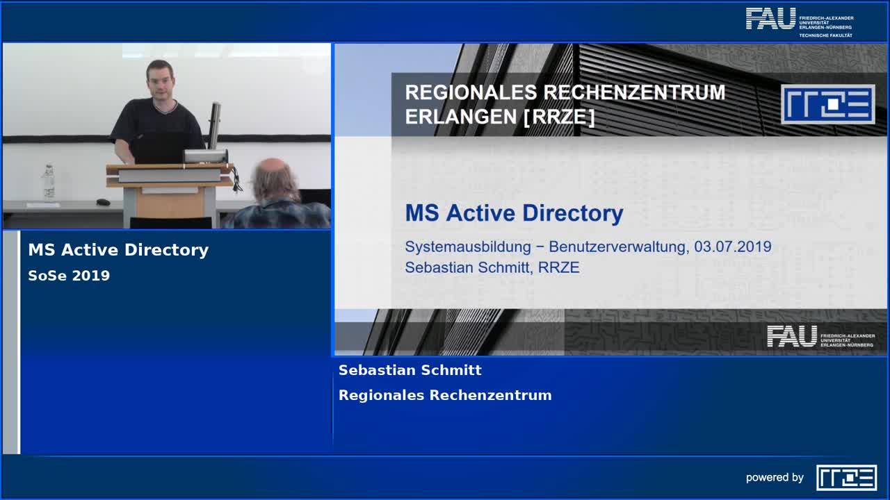 Benutzerverwaltung (MS Active Directory) preview image