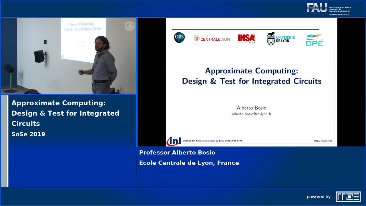Approximate Computing: Design & Test for Integrated Circuits preview image