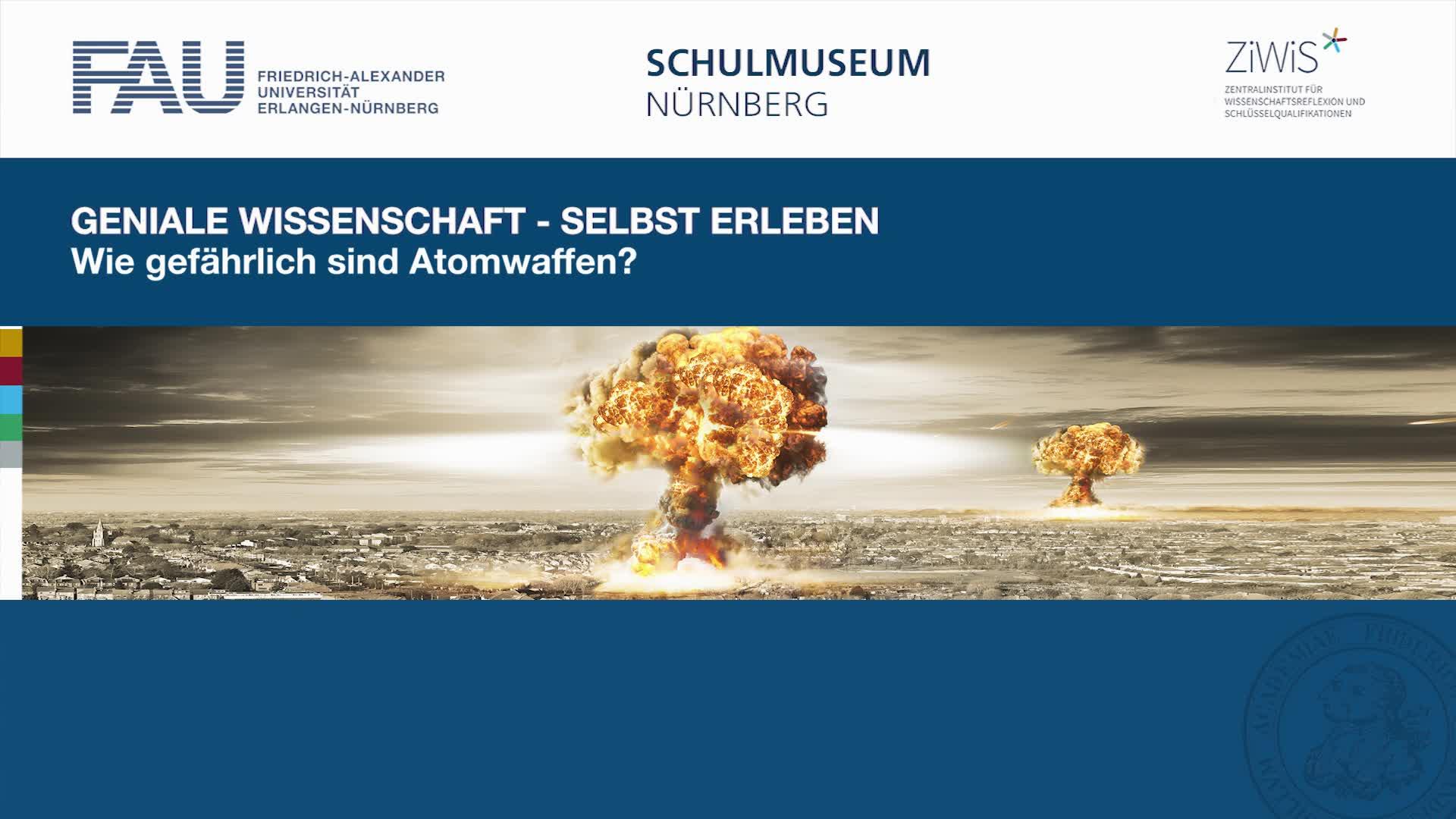 Wie gefaehrlich sind Atomwaffen preview image