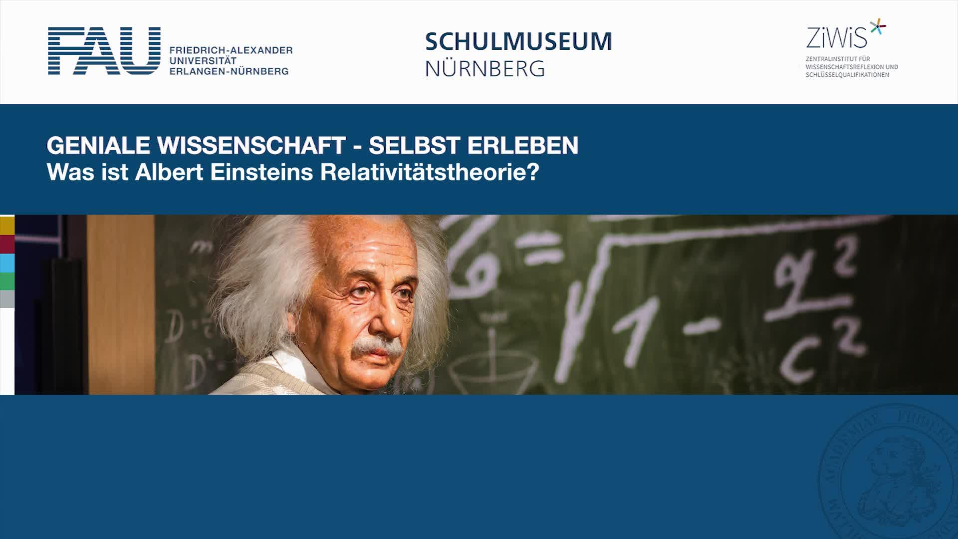 Was ist Albert Einsteins Relativitätstheorie? preview image