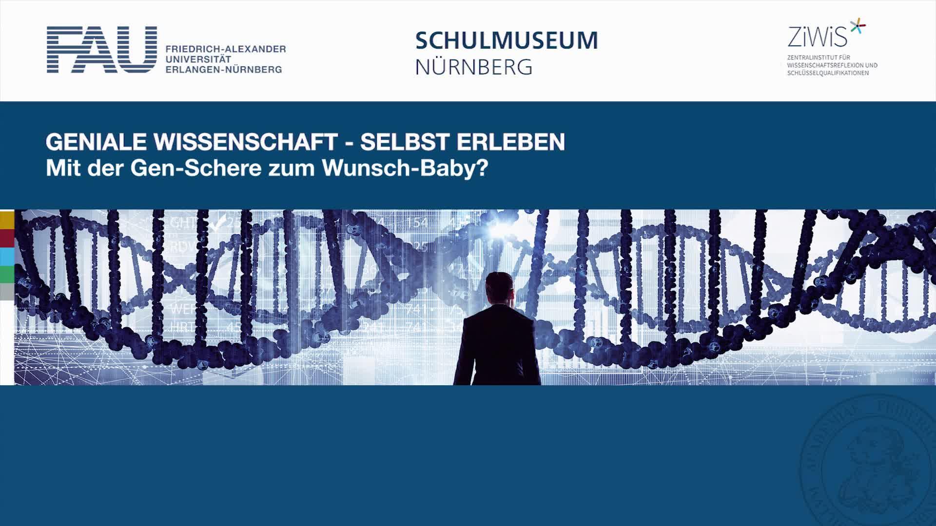 Mit der Gen-Schere zum Wunschbaby preview image