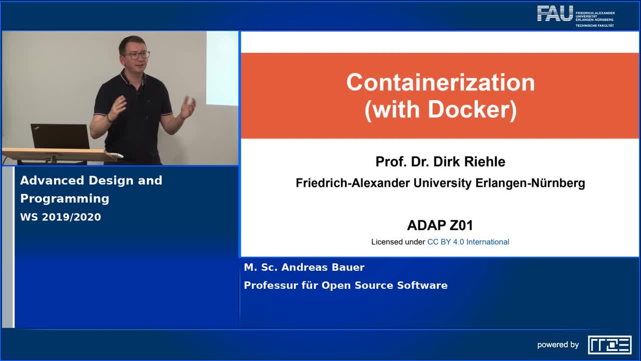 Advanced Design and Programming - Containerization with Docker preview image
