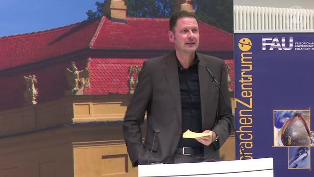 Festvortrag: Sprachenpolitische Überlegungen zum SZ der FAU preview image