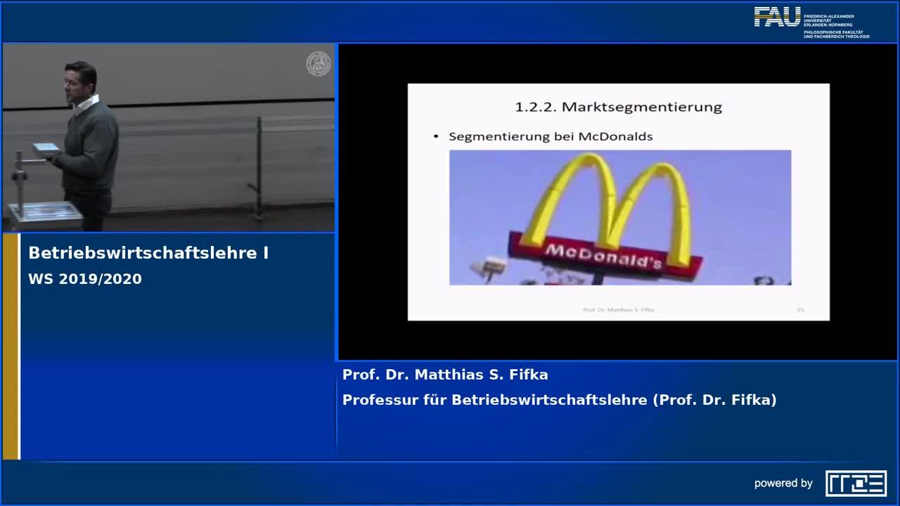 Betriebswirtschaftslehre I preview image