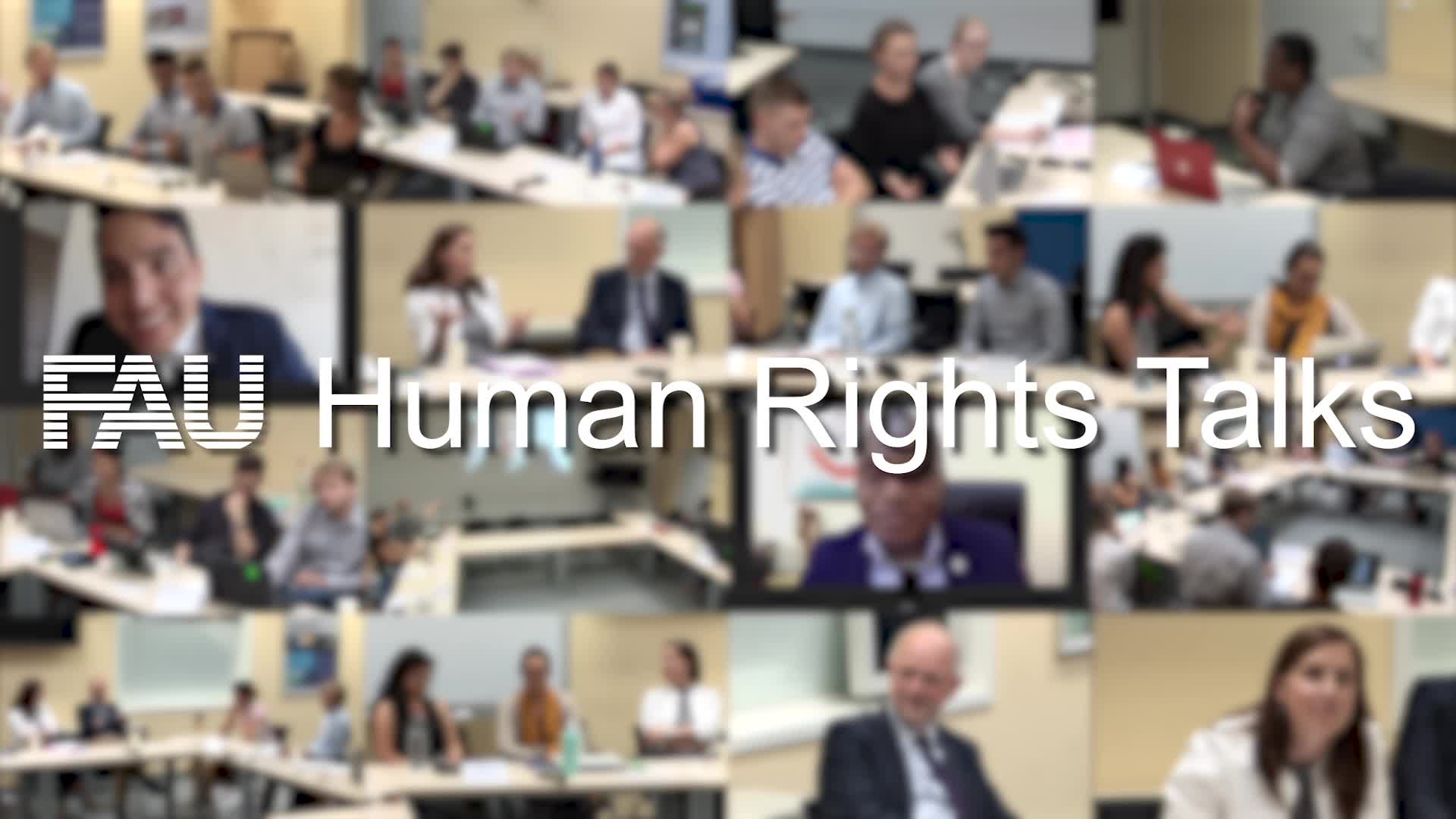 FAU Human Rights Talks - What you need to know preview image