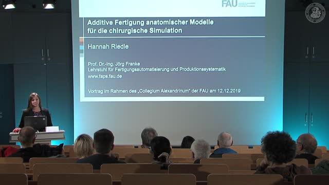 Additive Fertigung anatomischer Modelle für die chirurgische Simulation preview image