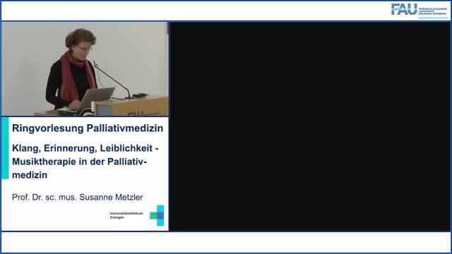 Klang, Erinnerung, Leiblichkeit - Musiktherapie in der Palliativmedizin preview image