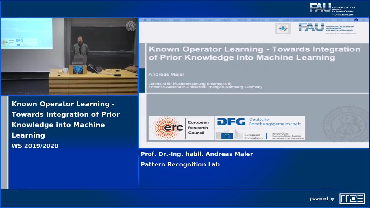 Known Operator Learning - Towards Integration of Prior Knowledge into Machine Learning preview image