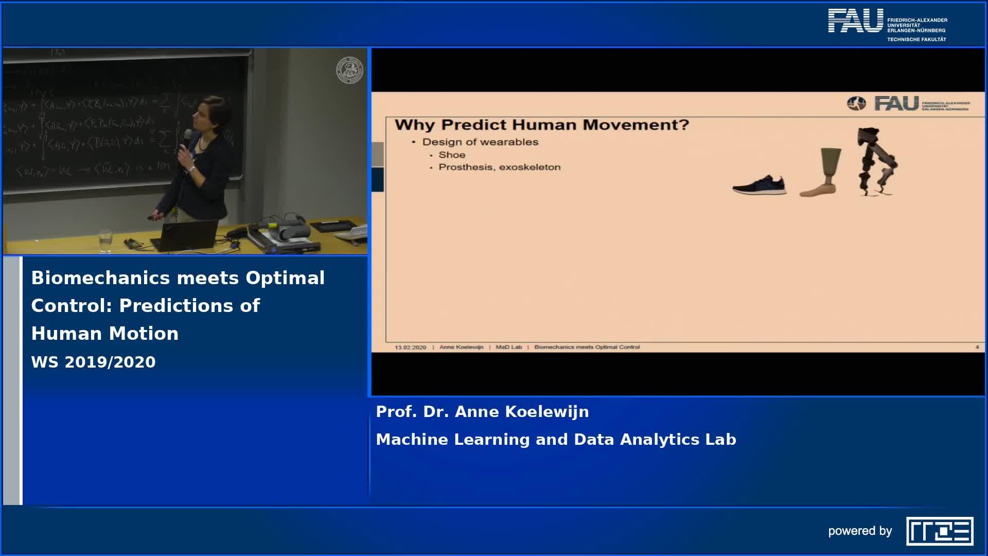 Biomechanics meets Optimal Control: Predictions of Human Motion preview image