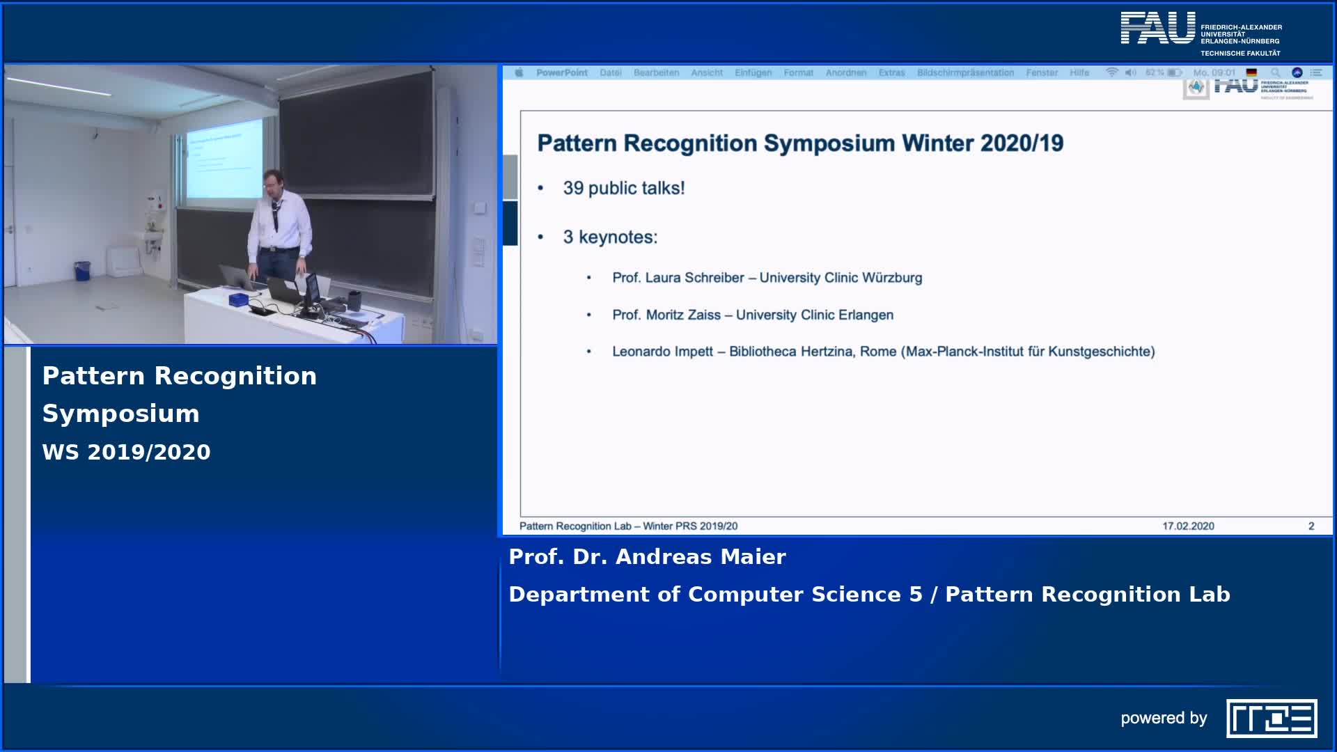 Pattern Recognition Symposium preview image