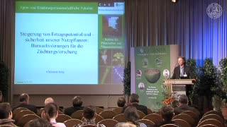 Steigerung des Ertrags und der Ertragssicherheit - Herausforderungen für die Züchtungsforschung preview image
